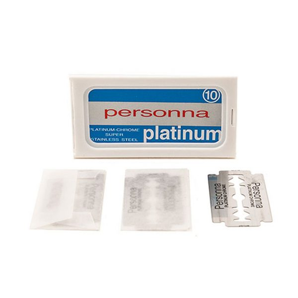 persona platinum blades - the wet shaving club