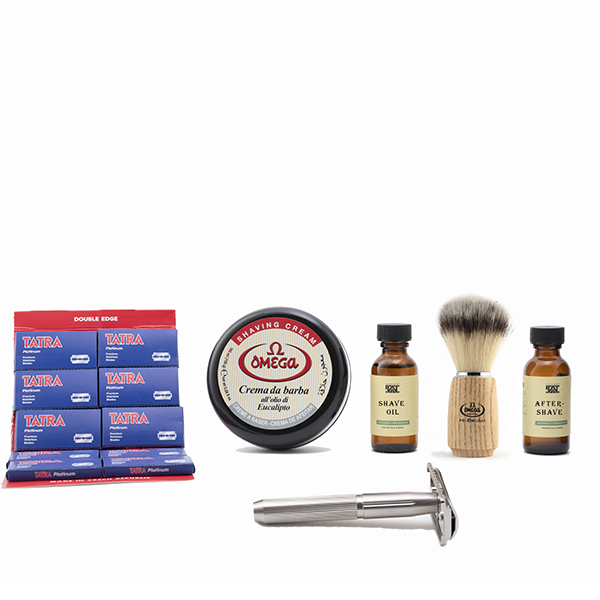 Ditch the monthly shave club - triple s