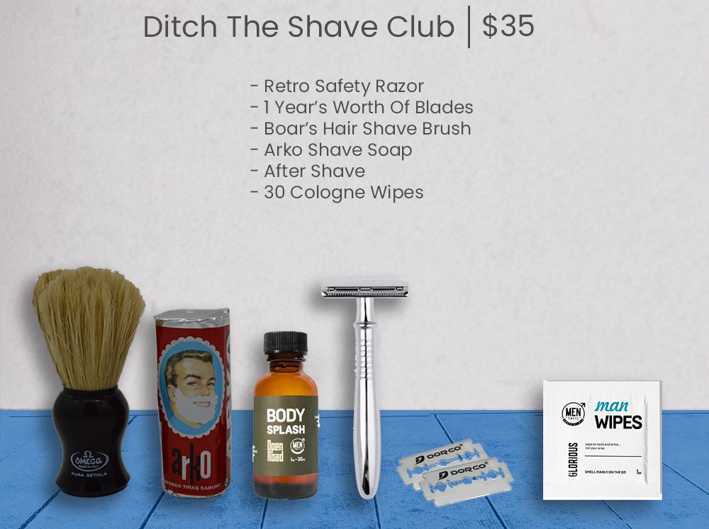 ditch the shave club main