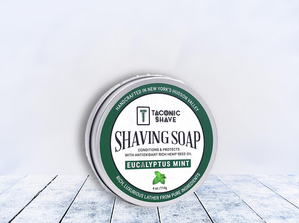 taconic shave soap - main