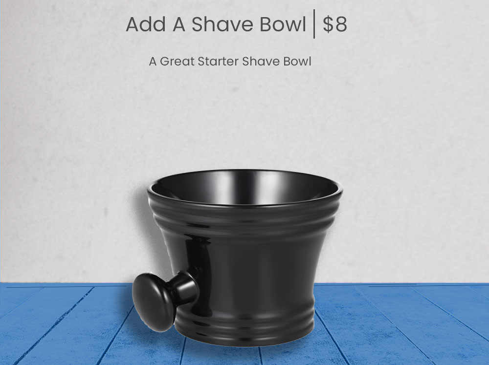 Add A Shave Bowl - Blue