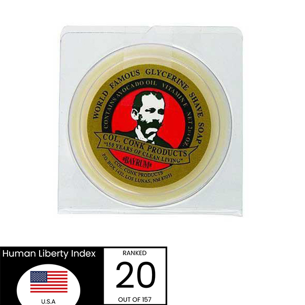Col Conk Shave Soap Made In The USA