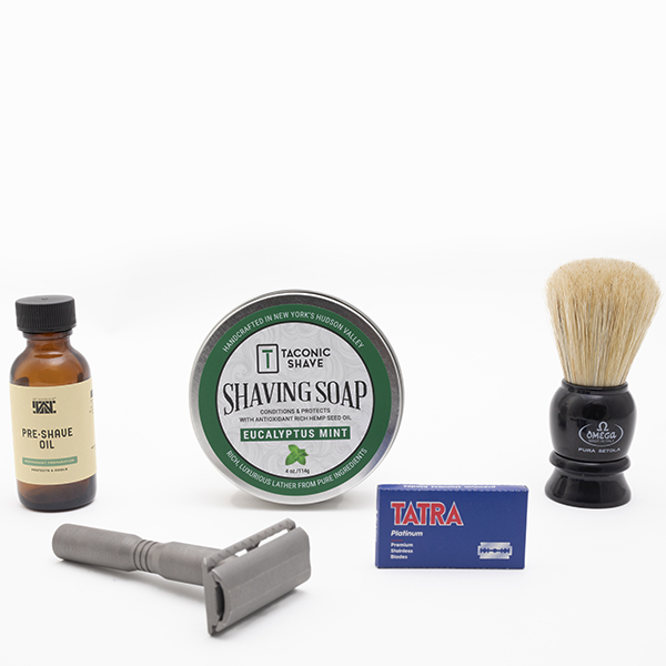 bald man shave deal-made in the usa safety razor