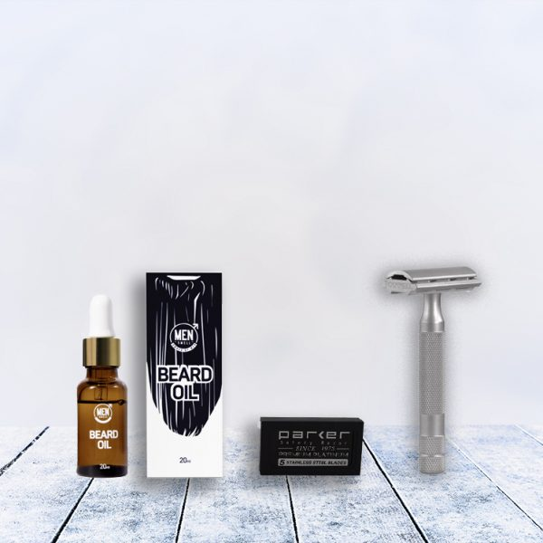 made in the usa bearded Man Shave Deal