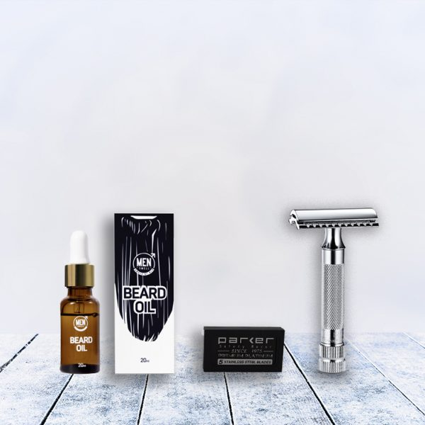 merkur 34c bearded Man Shave Deal