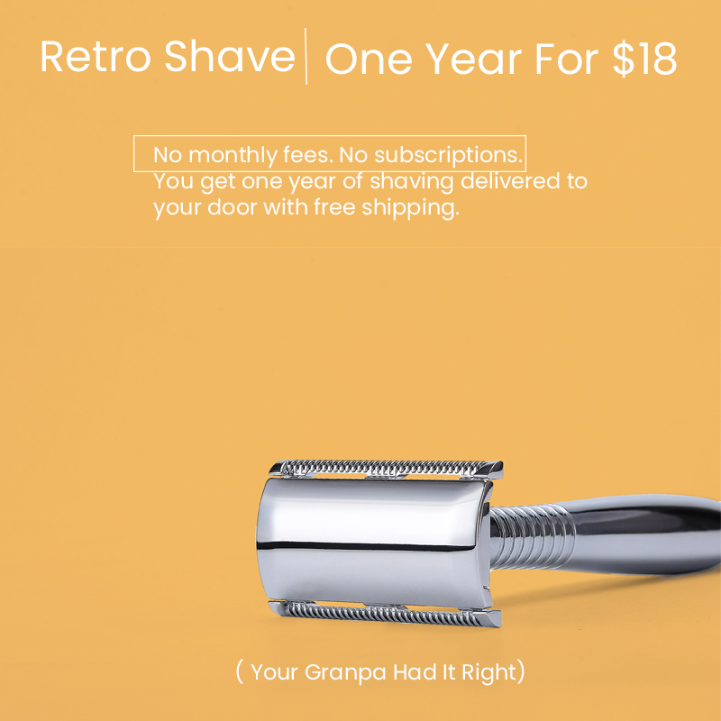mobile Retro safety razor