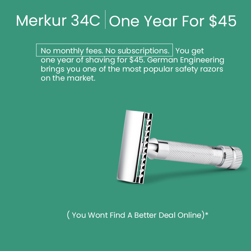 mobile merkur 34c safety razor