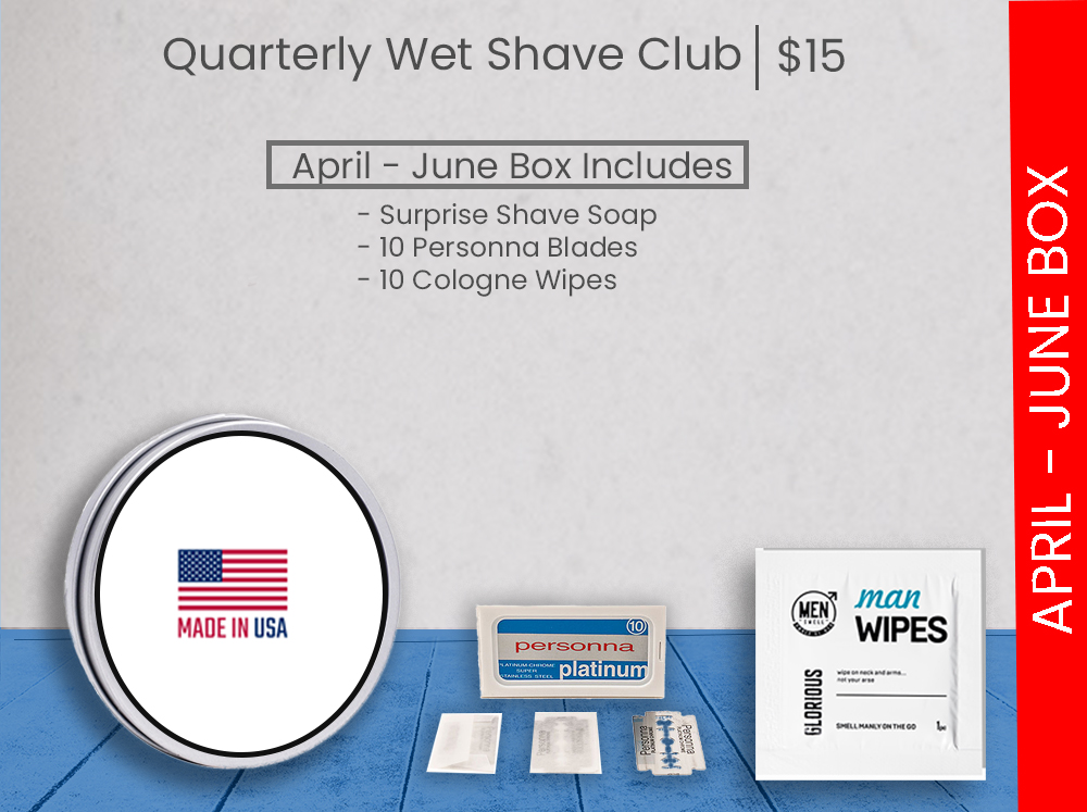 wet shave club quarterly sampler