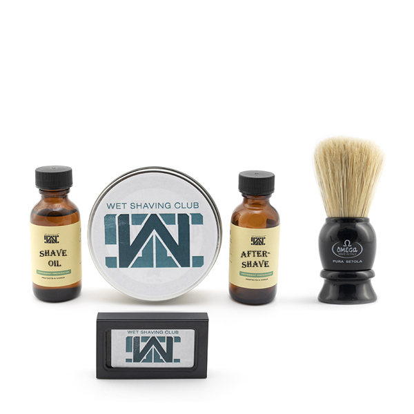 quarterly wet shave enthusiast with free brush