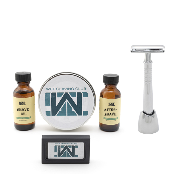 quarterly wet shave enthusiast with free razor