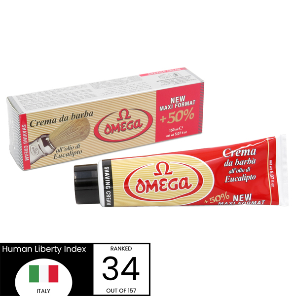 Omega Shave Cream - Made In Italy