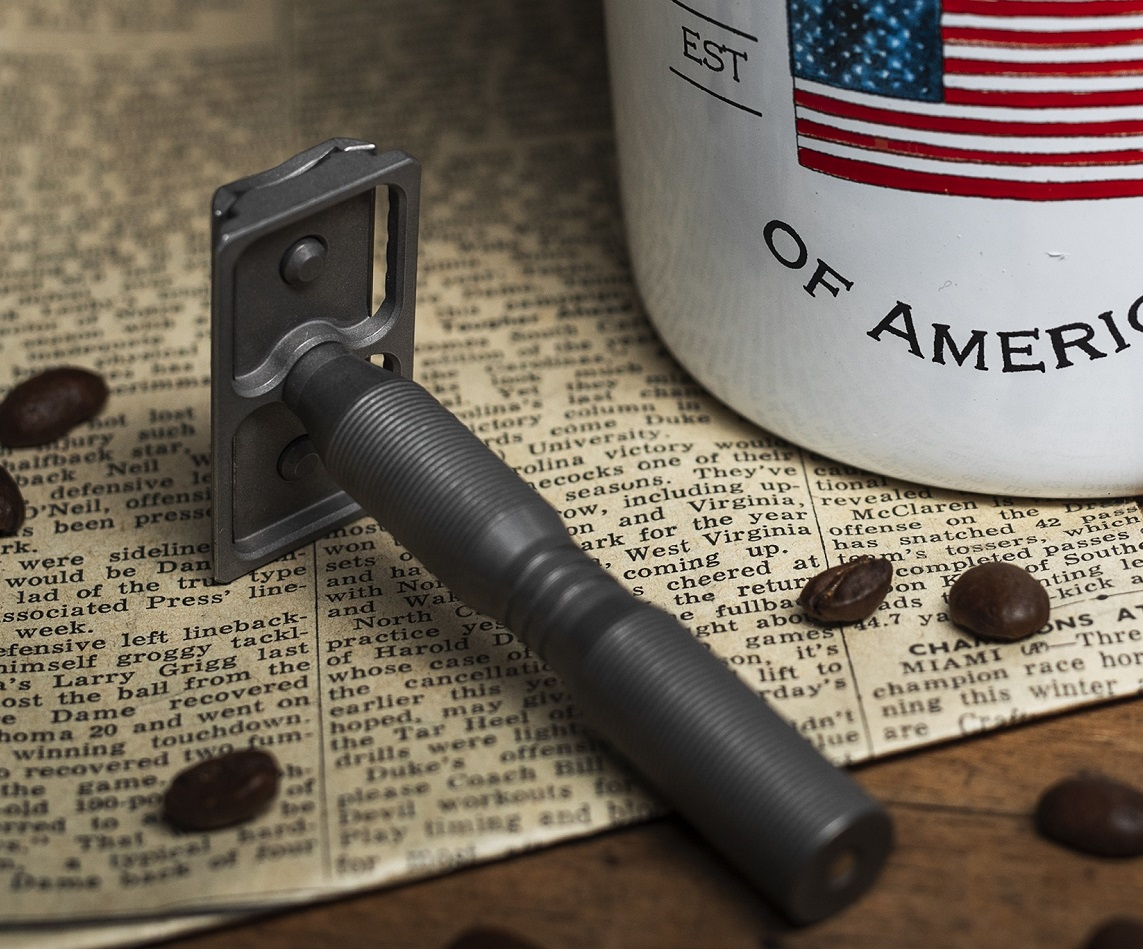 made in the usa safety razor from the wet shaving club - the best shave club