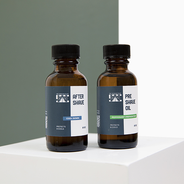 aftershave and preshave oil
