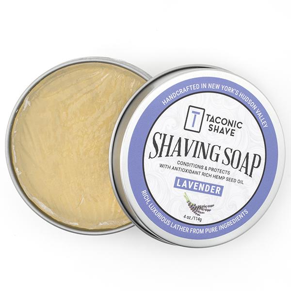 lavender shave soap taconic