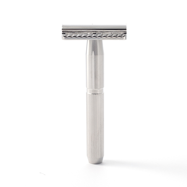new stainless steel safety razor - standing up