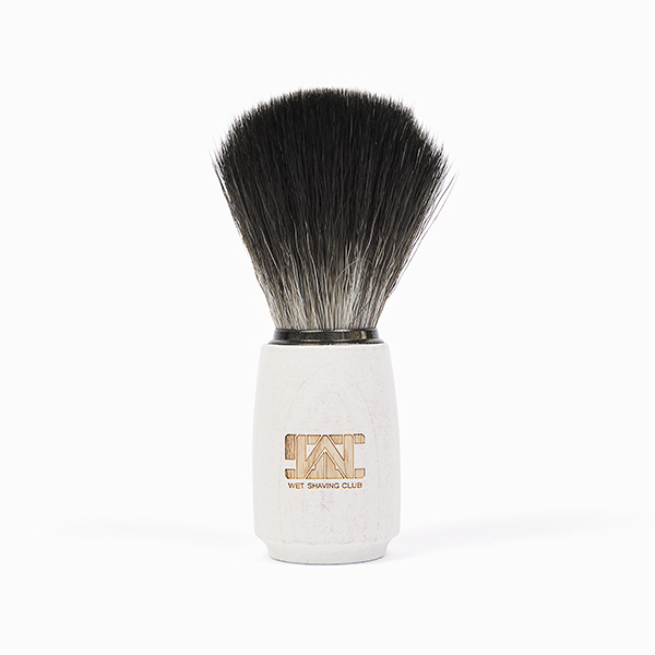 synthetic shave brush standing